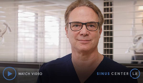 Watch Video: Welcome to Sinus Center LA